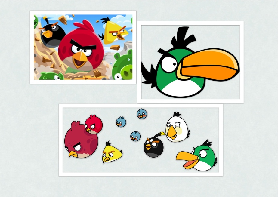 Angry Bird Collage