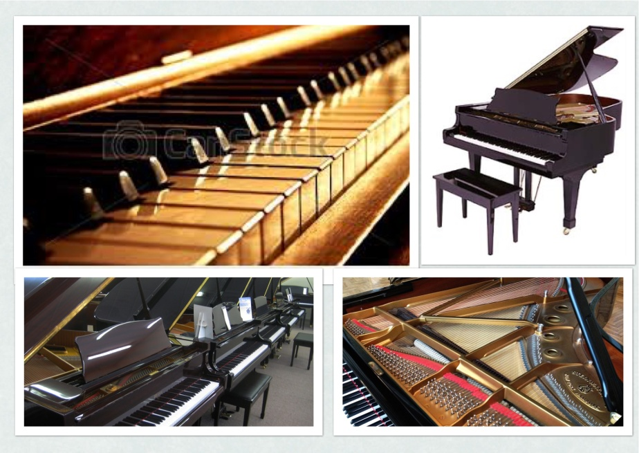 PIANOS COLLAGE